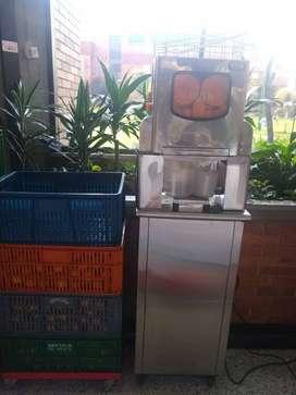 Vendo máquina exprimidora de citricos