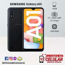 Samsung Galaxy A01 nuevo de paquete