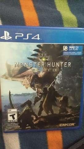 Monster hunter ps4