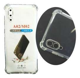 Estuche Forro Funda Case Strong Samsung Galaxy A02 // M02