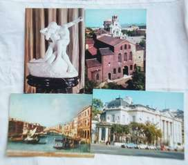 4 Tarjetas Postales del Museo Nac.de Arte Decorativo