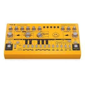 Sintetizador de Bajos Behringer TD3 edicion limitada