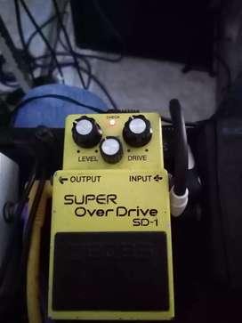 Pedal Super Over Drive SD-1