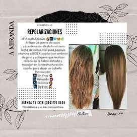 Repolarizaciones. NUEVO cabello