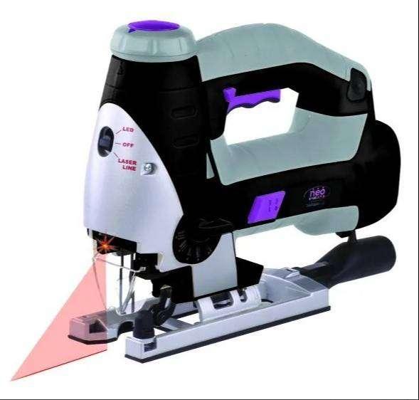 Sierra Caladora Madera Metal Plastico 850w Laser  LED Velocidad variable