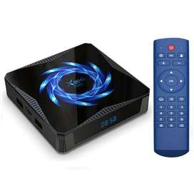 Tv Box X96q Max Android 10.0 Ram 4gb 32gb Bt 4.1 Wifi 2.4/5g
