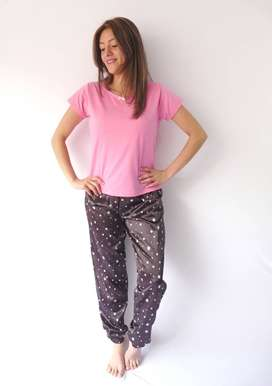 Pijamas lindas en Satín para dama
