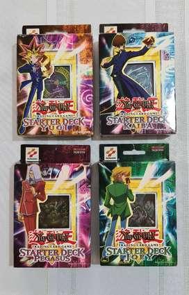 YuGiOh Starter Decks Originales de Colección 2002-03