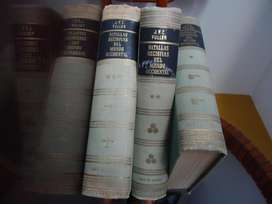 Libros Enciclopedia Batallas Decisivas del Mundo Occidental - 3 Tomos - J.E.C. Fuller