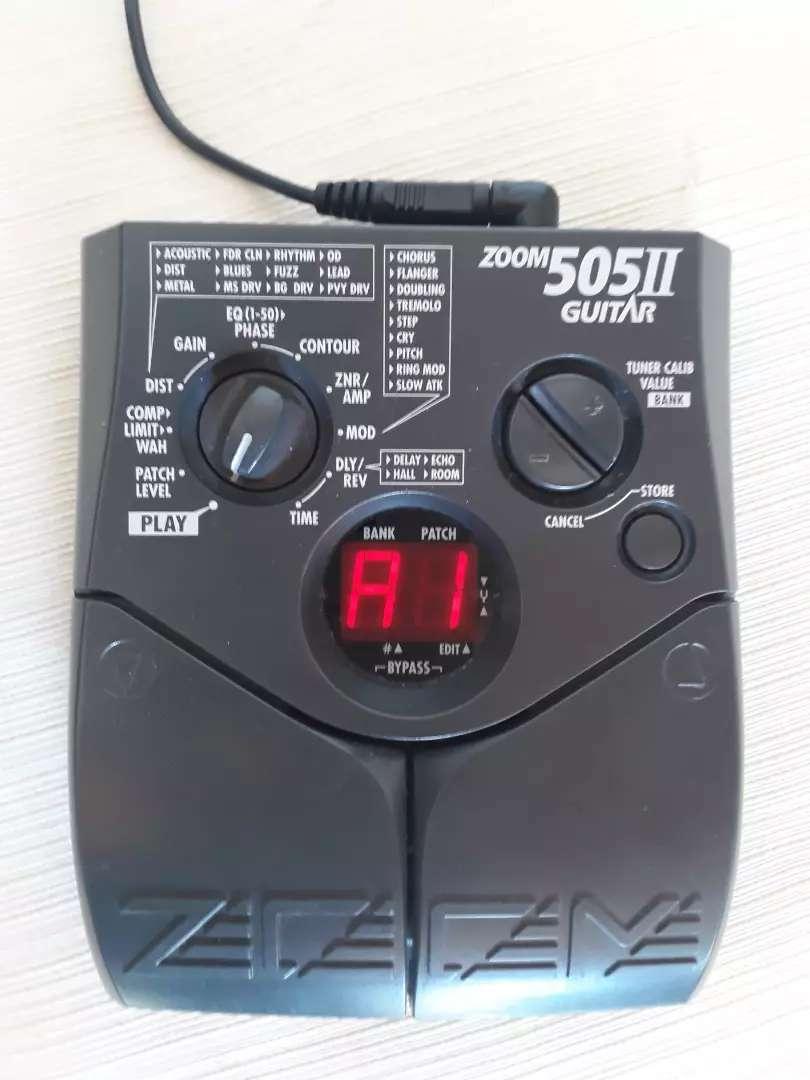 Zoom 505 ll para guitarra 0