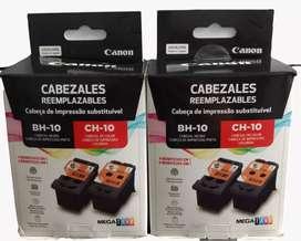 Cabezales canon Negro y color BH_10/ BH_11 original