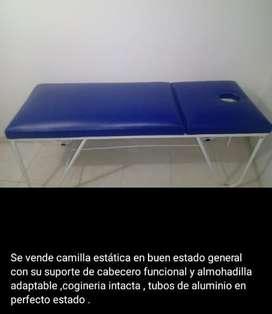Camilla estatica para masajes