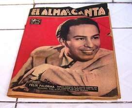 Revista El Alma Que Canta Nº 1381 13 Septiembre 1949