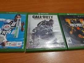 Juegos Xbox One - negociables - se aceptan cambios