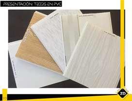 TECHOS PVC 9mm 30 cm - 60% PVC
