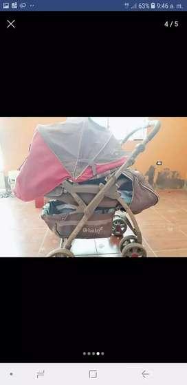 Vendo carrito, coche y saltarin de bebe