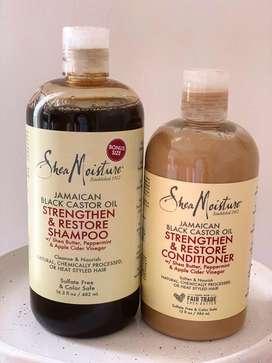 Shampoo y Acondicionador Shea Moisture