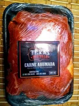 Deliciosa carne de búfalo Ahumada