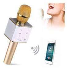 Micrófono Karaoke Q7 - Bluetooth Parlante Portatil + Estuche