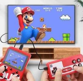 Video juego tipo Game Boy con 400 juegos
