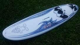 tabla windsurf starboard 83 litros, muy buena, con funda.