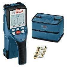 Detector De Materiales hasta 15 cm Metales Pvc Cables Madera Dtect 150 Sv Bosch