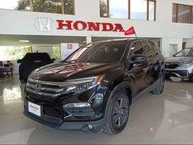 HONDA PILOT 5dr 2WD LX 6AT Modelo 2016 Color Negro Cristal