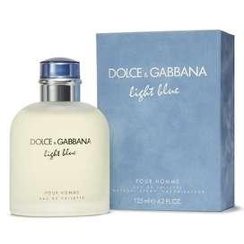 Perfume Dolce Gabbana Light Blue para Caballero 125ml ORIGINAL