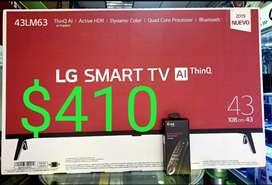 TV 43 LG Super oferta $410
