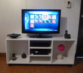 Mesa De Tv Lcd Led Audio Dvd Organizador