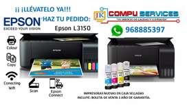 Impresora Epson L3150 Multifuncional Nuevas en Caja Sellada - Entrega Inmediata