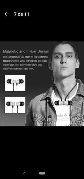 Audífonos Bluetooth magneticos