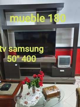 Mueble para tv de hasta 55 pulgadas