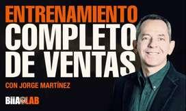 Entrenamiento completo de ventas - Jorge Martinez - BiaAlab