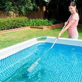 aspiradora piscina intex portable