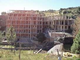 VENDO ,PERMUTO,FINANCIO IMPORTANTE HOTEL SIN TERMINAR 14 HECTAREAS EN SAN JERONIMO