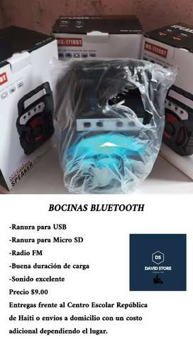 BOCINAS BLUETOOTH