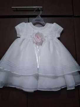 Vendo vestido de Bautizo 0 meses
