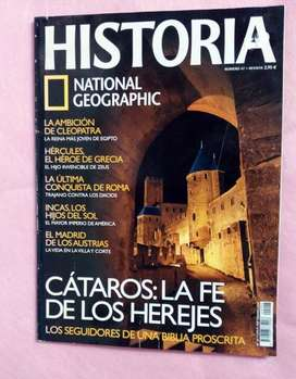 HISTORIA       NATIONAL GEOGRAPHIC MAGAZINE N°47