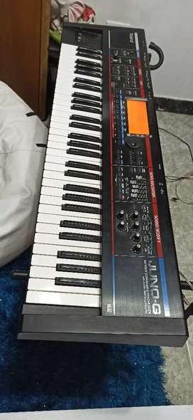 ¡Regalo! Piano Roland Juno G de 5 octavas sintetizador Roland Juno G