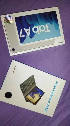 Tablet y estuche con teclado