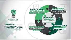 AUTOMATIZACIÓN REPOTENCIACIÓN - MANTENIMIENTO - MONITOREO  Y PROCESAMIENTO- IMPLEMENTACIÓN DE ENERGIAS