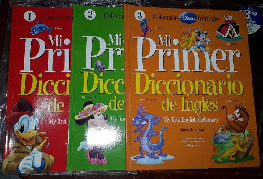 Coleccion Mi Primer Diccionario de Ingles para Niños 0
