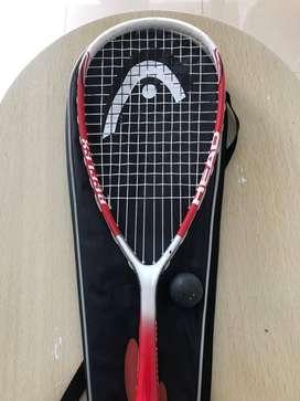Raqueta Squash Head - Con forro y pelota