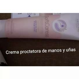 Crema protectora para manos y uñas