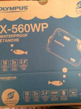 Camara Olympus W-560wp Water Proof 10mp