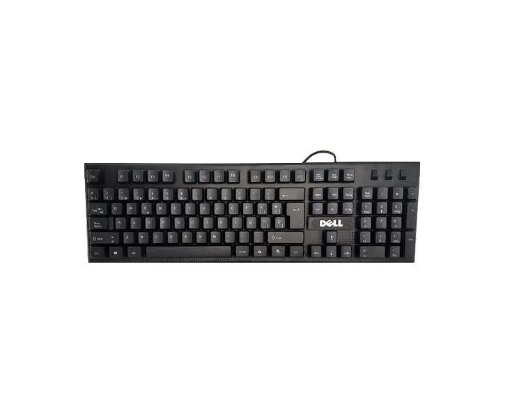 Keyboard Teclado Dell alambrico D 610