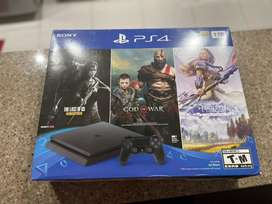 PS4 Slim 1 TB + Juego The Last of us Remastered