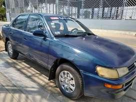 Toyota Corolla 94 petrolero automático de uso particular buen estado.
