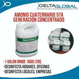 AMONIO CUATERNARIO 5TA GENERACIÓN CONCENTRADO